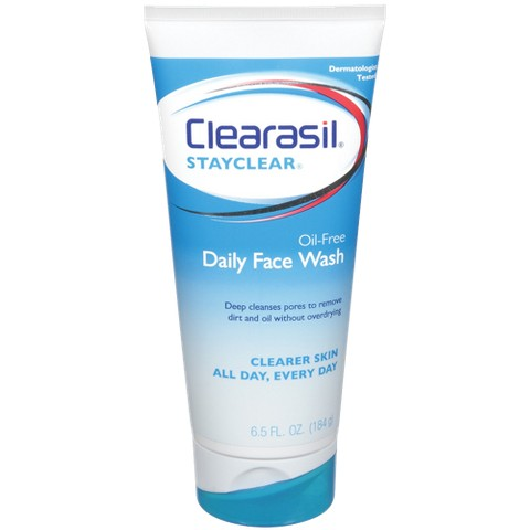 Clearasil Stayclear face Cream wash 150ml Out Of Date RRP £6.99 *Foreign Packaging*