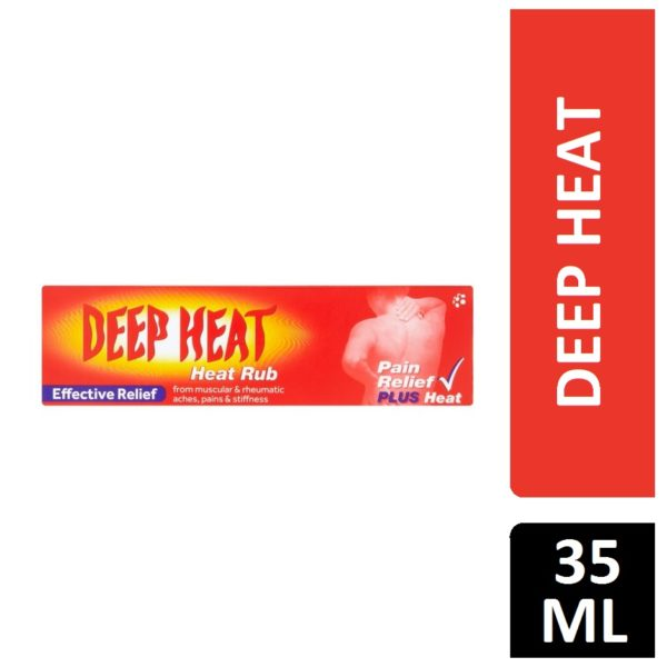 DEEP HEAT HEAT RUB 35G