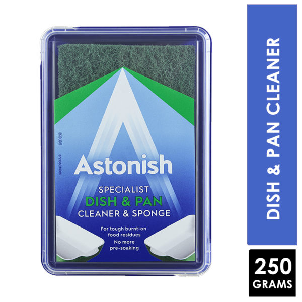 Astonish Specialist Dish & Pan Cleaner & Sponge 250g