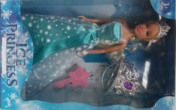 ICE PRINCESS FASHION DRESS UP DOLL