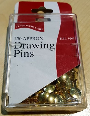 DRAWING PINS (150 APPROX)