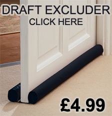 DRAFT DOOR EXCLUDER FIT ANY SIZE