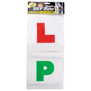 DRIVING PLATES L&P PLATES 4PACK 2XL X2 P MAGNETIC EASY TO FIT