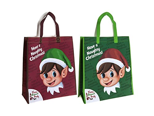 CHRISTMAS ELFS SHOPPING BAG