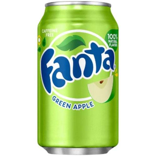 FANTA GREEN APPLE SODA CAN 355ML