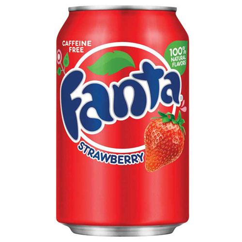 FANTA STRAWBERRY SODA CAN 355ML