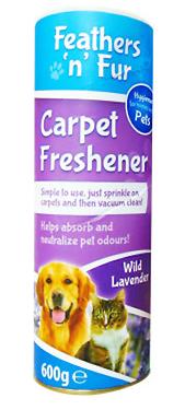 Feather 'n' Fur Carpet Freshener Wild Lavender 600g