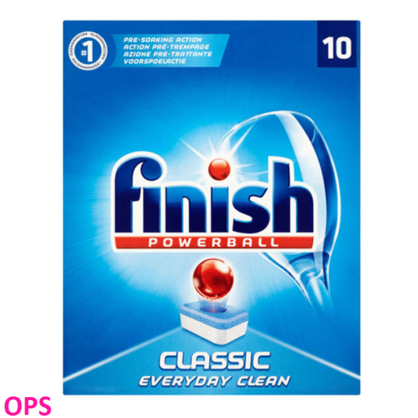 Finish Powerball Classic Everyday Clean 10