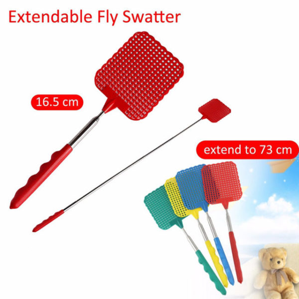 Fly Swatter Extendable Colour May Very