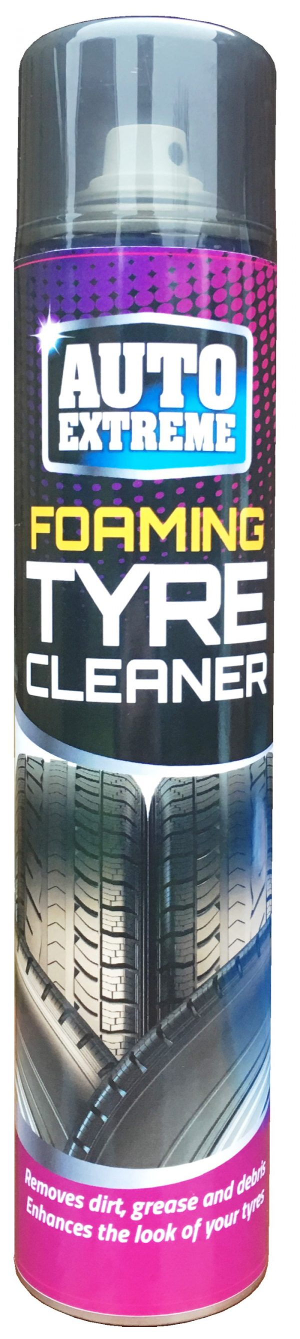 Auto Extreme Foaming Tyre Cleaner 370ml