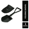 Silverline 839280 Folding Shovel, 580 mm