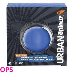 FUDGE URBAN COLOUR HAIR CHALK ELECRTIK BLUE 4G