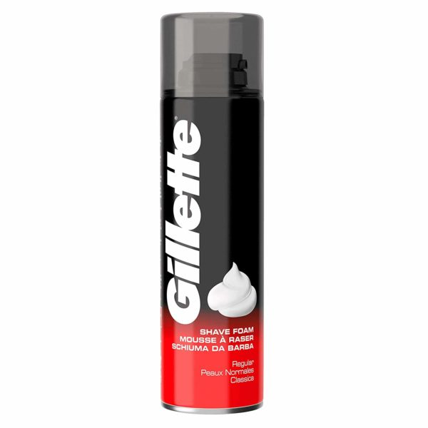 Gillette Classic Regular Men's Shaving Foam, 200 ml