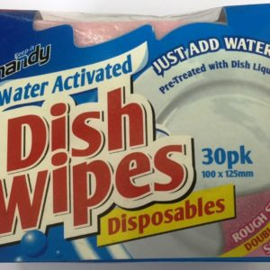 Handy Dish Wipes Disposables 30pk