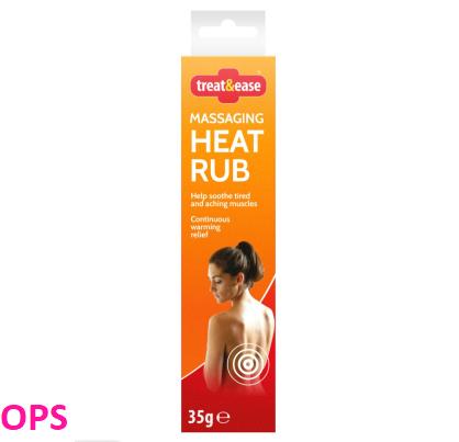 Treat & Ease Messaging Heat Rub 35g