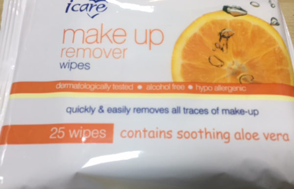 i care Make -Up Remover Pads 25s Citrus