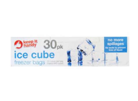 Keep it Handy Ice Cube Freezer Bags