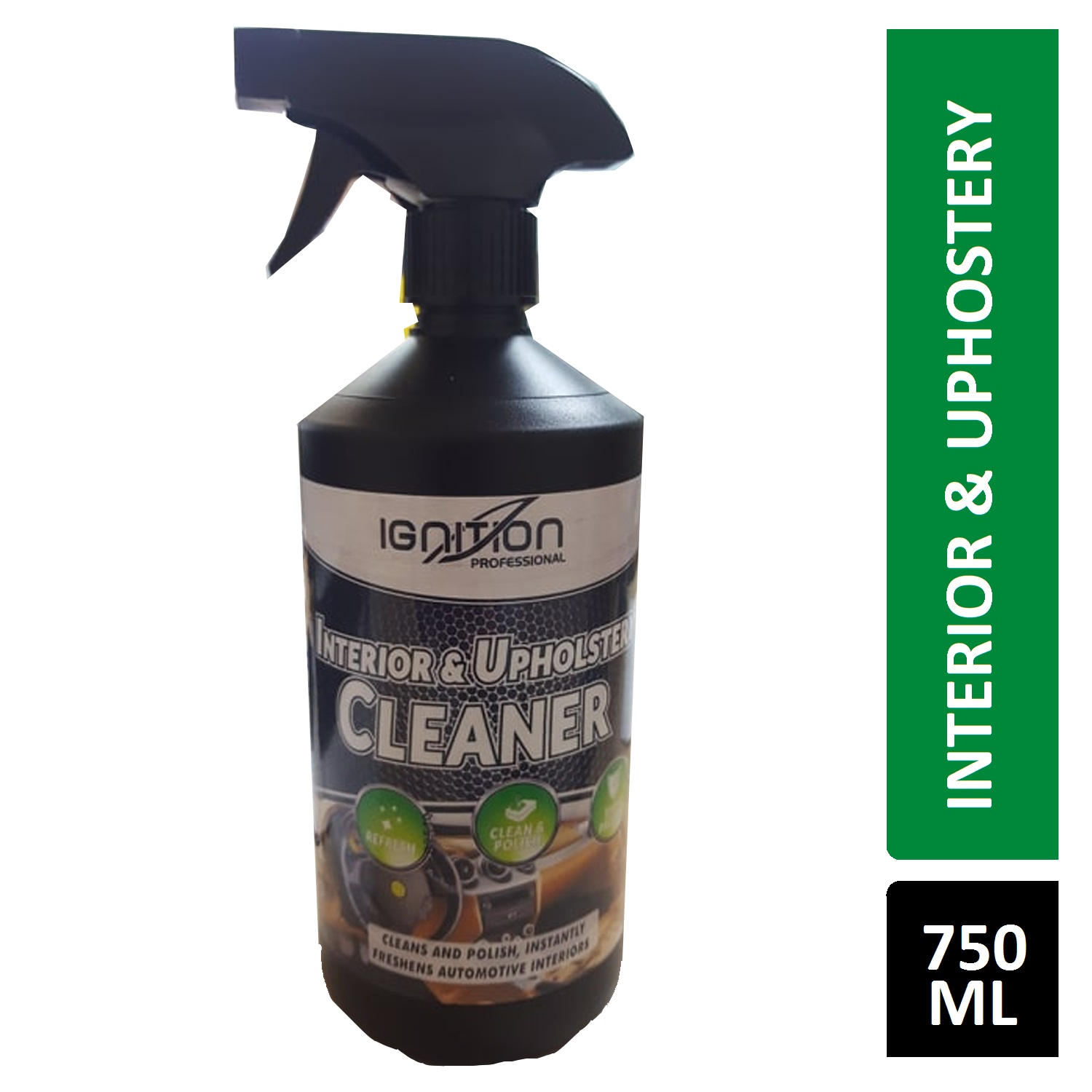 IGNITION INTERIOR & UPHOLSTERY CLEANER 750ML