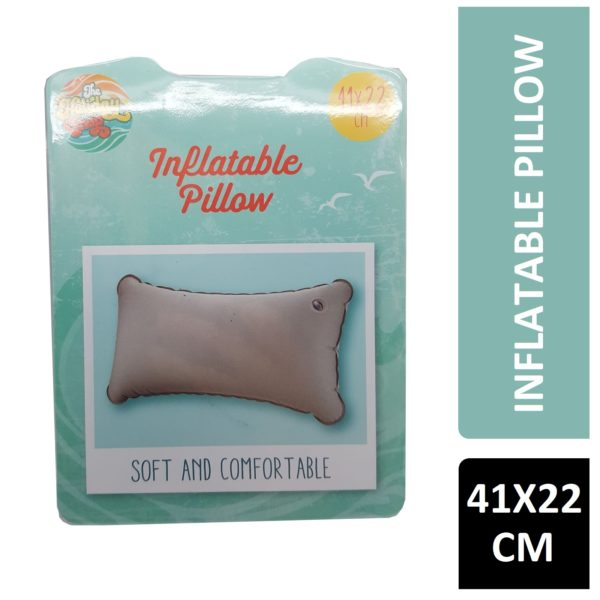 THE HOLIDAY SHOP INFLATABLE PILLOW 41 X 22 CM