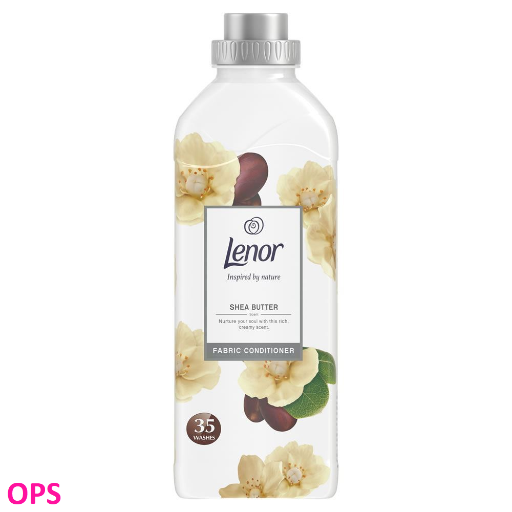 Lenor SHEA BUTTER FABRIC CONDITIONER 875ML