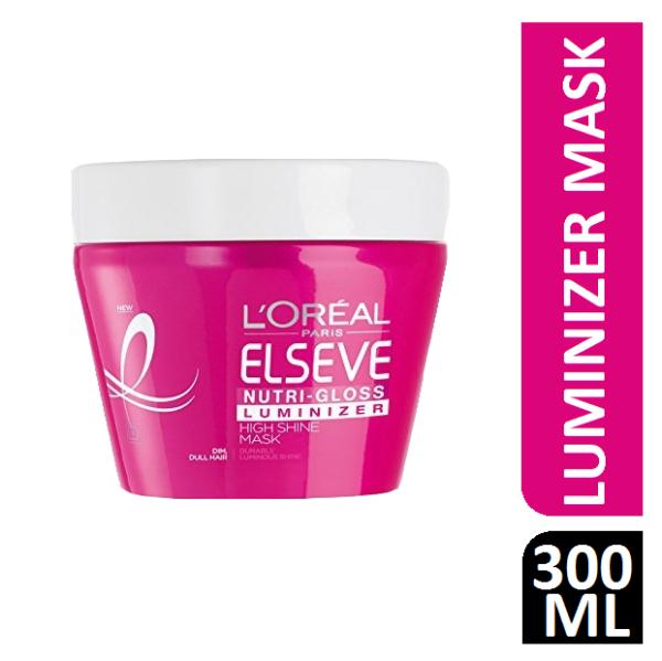 L'Oreal Elseve / Elvive Nutri-Gloss Luminizer Mask 300 ml
