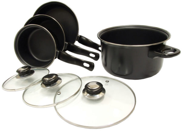 7 Piece Cookware Pan Set