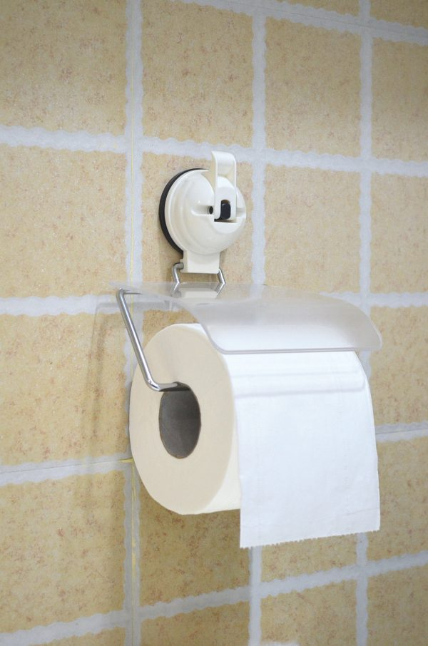 Toilet Roll Holder - Suction