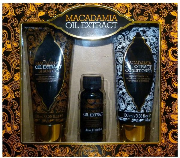 MACADAMIA OIL HAIR CARE GIFT SET 3 PIECE