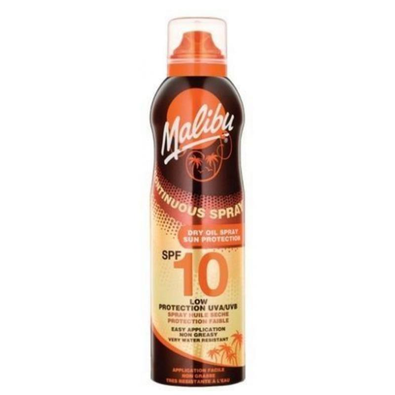 Malibu Continuous Spray Dry Oil SPF10 175ML