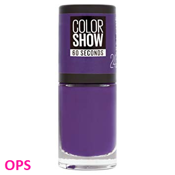 MAYBELLINE NEW YORK COLOR SHOW 24 VERY VIOLET 6.7ML