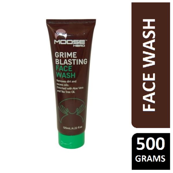 Moose Head Grime Blasting Face Wash 125ml