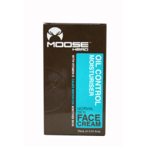 MOOSE HEAD OIL CONTROL FACE CREAM 75ML