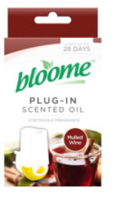 Bloome Plug-In Scented Oil Mulled Wine 20ml