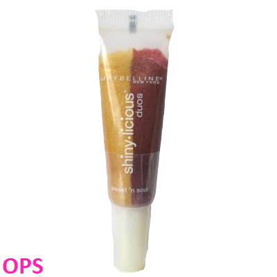 Maybelline shiny licious duos lipgloss - sweet n sour