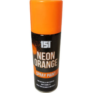 151 Neon Orange Spray Paint 200ml