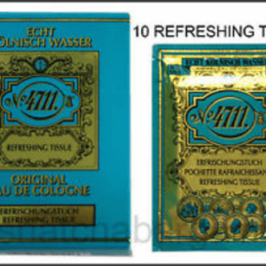 NO 4711 REFRESHING TISSUE 10S