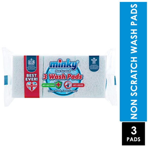 Minky Non Scratch 3 Wash Pads