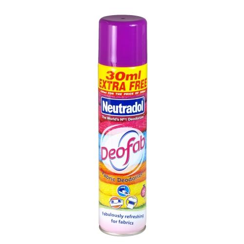 Neutradol Deofab Fabric Deodorizer Spray 330ml