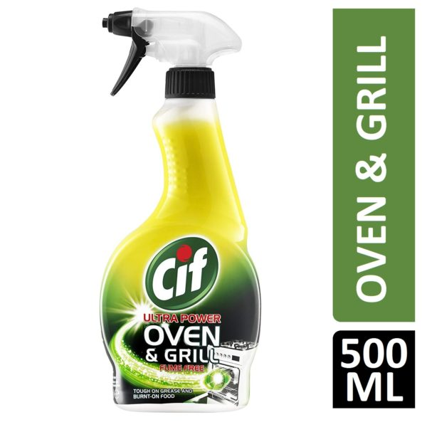 Cif Ultra Power Oven and Grill Cleaning, Spray, 500 ml