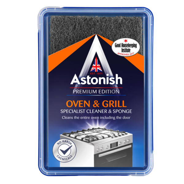 Astonish Oven & Grill Specialist Cleaner & Sponge 250g