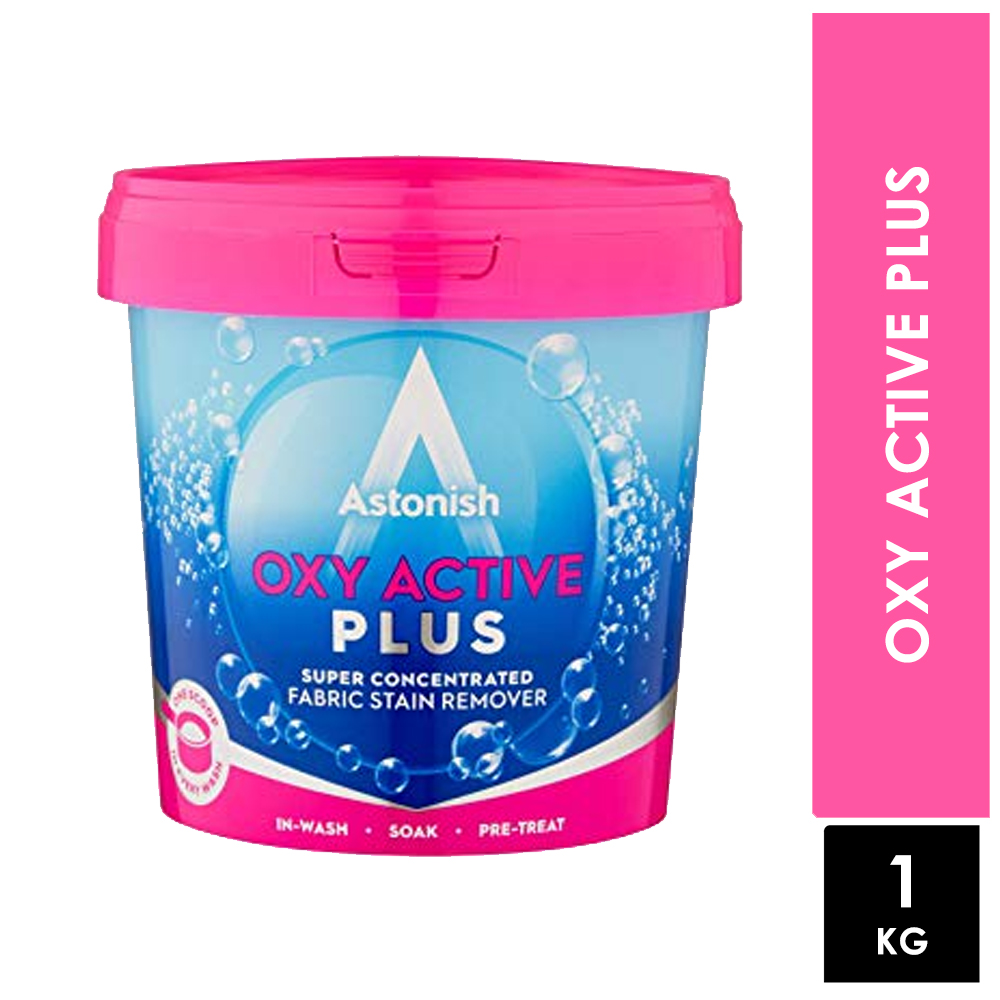 Astonish Oxy Active Plus Fabric Stain Remover 1kg