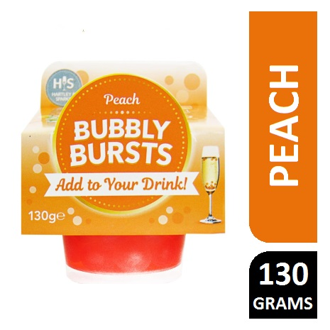 PEACH BUBBLY BURST 130G