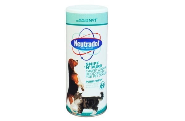 "NEUTRADOL PURE FRESH ""SNIFF N PURR"" CARPET & ROOM DEODORIZER FOR PET ODOURS"