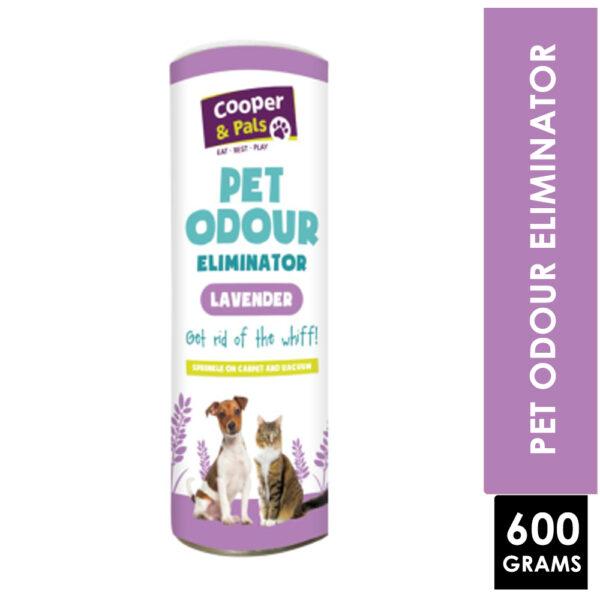 COOPER & PALS PET ODOUR ELIMINATOR LAVENDER 600G