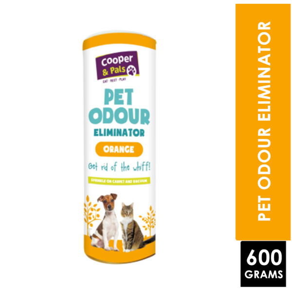 COOPER & PALS PET ODOUR ELIMINATOR ORANGE 600G