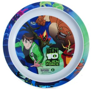 BEN 10 ALIEN FORCE PLASTIC PLATE