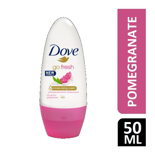 DOVE GO FRESH POMEGRANATE ROLL ON 50ML