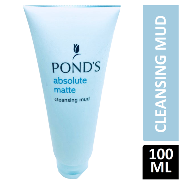 Ponds Absolute Matte Cleansing Mud 100g