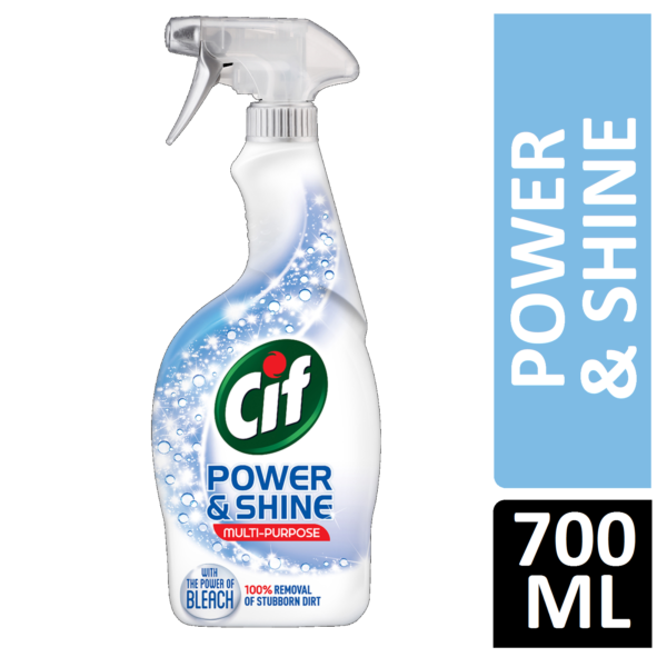 Cif Power & Shine Multi-Purpose with The power of bleach 700ml