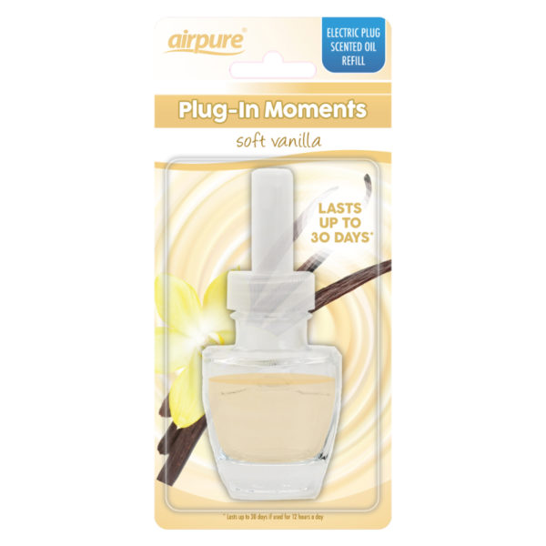 Airpure plug in moments soft vanilla